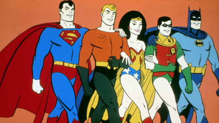 SuperFriends image from The Hollywood Reporter, courtesy of The Everett Collection