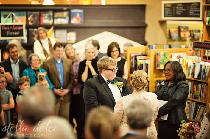 Bookstore Wedding - Stella Dolce Photography