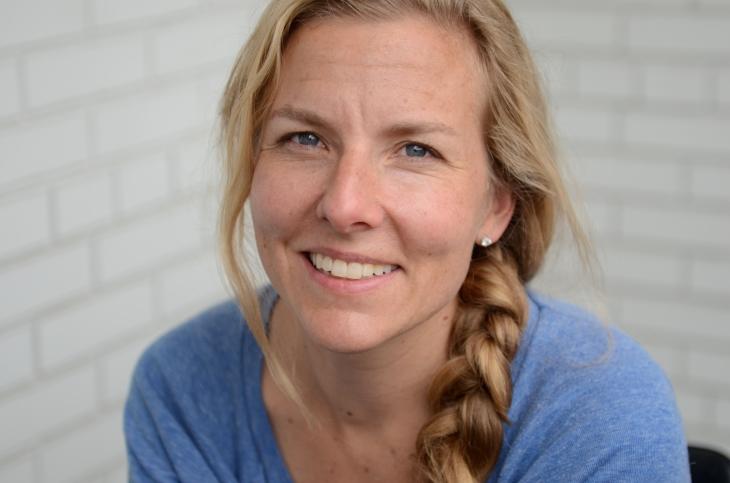 Claire Cameron - photo by Nancy Friedland