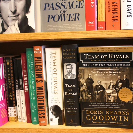 If you read even one of these great biographies, you'd be able to pass for a historian. That's true.
