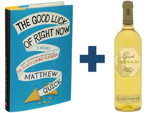 "Book: The Good Luck of Right Now, by Matthew Quick, author of Silver Linings Playbook White wine: The actor Richard Gere plays a role in that story. So Dan researched what Gere likes to drink (""but not in a stalker way or anything,"" Dan says), and chose a Grisela Tessari Soave Classico, a white wine that's one of Gere's favorites."