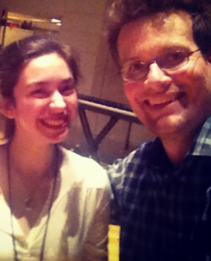 "Yashwina Canter (the youngest bookseller on our staff, having just graduated from high school) took a ""John Green selfie"" at the event and said, ""Pundits may grumble that 'young people don't read anymore' or 'the book is dead' but clearly, none of those pundits have ever witnessed the TFiOS phenomenon."""