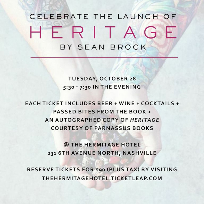 Nashville Book Party for Sean Brock's HERITAGE  (1)