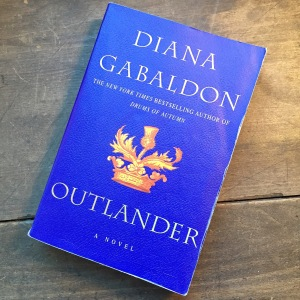 Lawhon's much-loved copy of Outlander