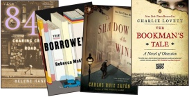 4-book box set! Includes contributions from authors Carlos Ruiz Zafón, Helene Hanff, Rebecca Makkai, and Charlie Lovett.
