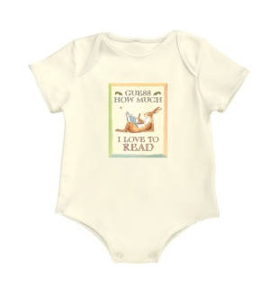For your littlest future reader... It's a onesie! It's a bunny! It's a.... bunsie! Made of 100% soft European quality cotton. This onesie has snaps at the bottom making it easy to change and dress little ones.