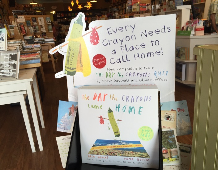 They're baaaaack... The crayons have come home, and their new book is one of our favorites.