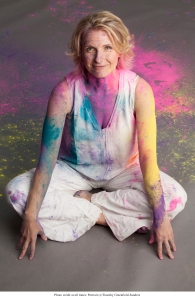 Elizabeth Gilbert - Holi Powder Photo Alternate credit Timothy Greenfield-Sanders
