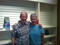 We couldn't have created this store without the wisdom of Karen Davis (pictured, right, with our own Karen Hayes) of Davis Kidd, the bookstore that came before us.